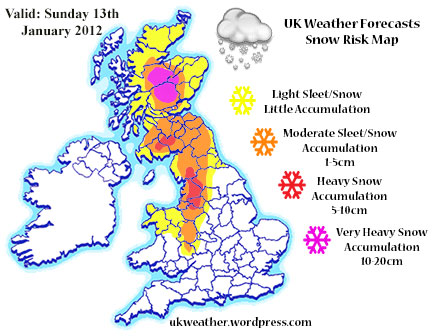 Snow + Remaining Cold Through The Week | UK Weather Forecasts