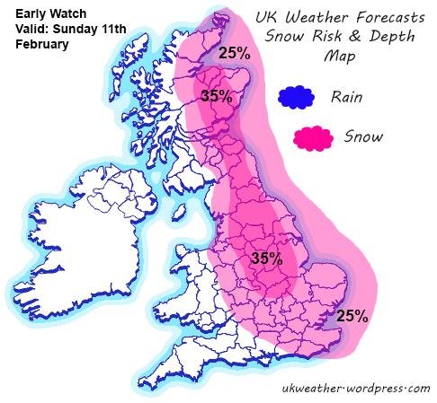 Snow-Rain-map