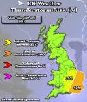 Thunderstorm-Risk